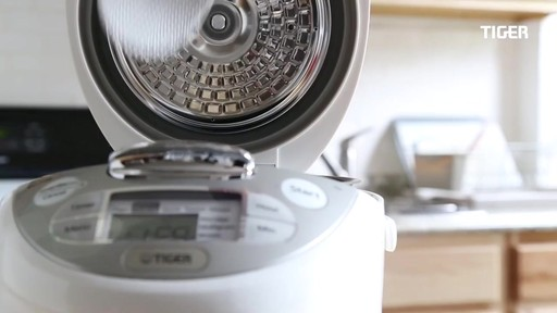 Tiger 5.5-Cup Multi-Functional Rice Cooker and Warmer - image 7 from the video
