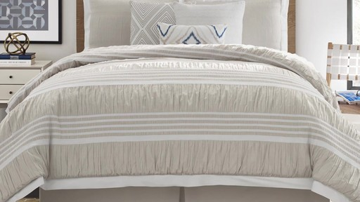 Real Simple Harper Comforter and Bedding Ensemble - image 3 from the video