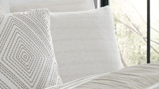 Real Simple Harper Comforter and Bedding Ensemble - image 8 from the video