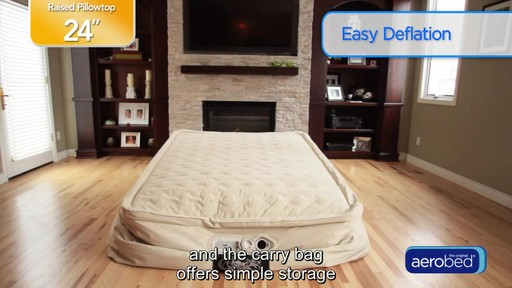 Aerobed 174 Inflatable Beds 187 Bed Bath Amp Beyond Video