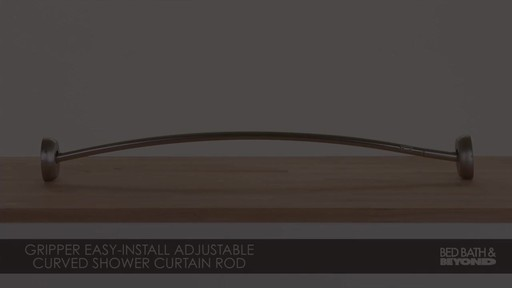 How To Install A Moen Curved Shower Curtain Rod - Window Curtains ...