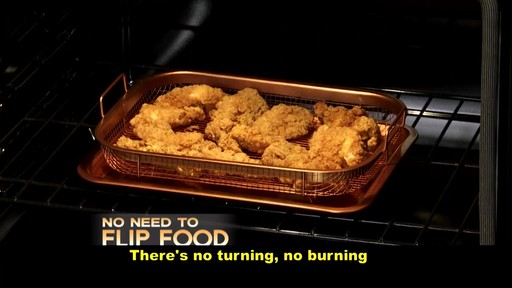 2 Piece Copper Crisper Oven Air Fryer Pan Set 187 Bed Bath