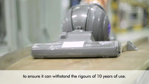 Dyson Vac Production and Testing - image 9 from the video