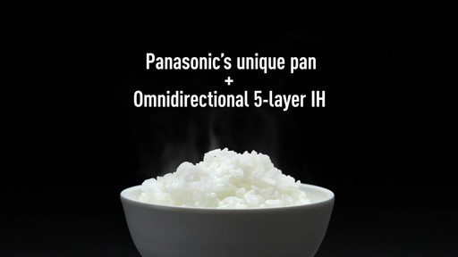 Panasonic 5-Cup Induction Rice Cooker - image 9 from the video