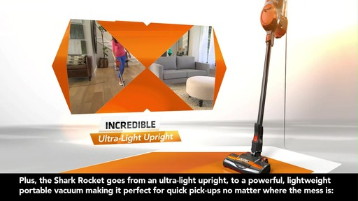Shark®  Rocket Stick Vacuum - image 5 from the video