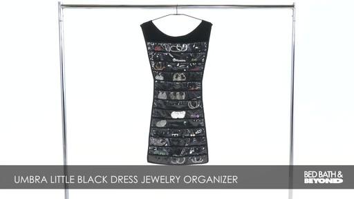 Umbra Little Black Dress Jewelry Organizer 187 Bed Bath