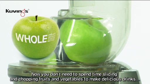 Kuvings Whole Slow Juicer Demo : Kuvings Whole Slow Juicer Bed Bath & Beyond video