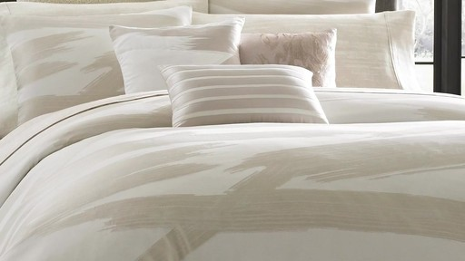 Kenneth Cole Reaction Brushstroke Bedding Collection 187 Bed