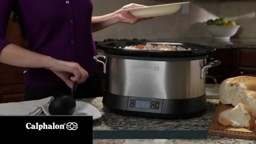 Calphalon 7-Quart Digital Slow Cooker - image 6 from the video