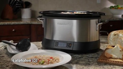 Calphalon 7-Quart Digital Slow Cooker - image 8 from the video