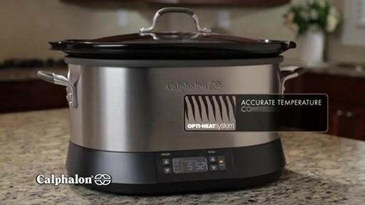 Calphalon 7-Quart Digital Slow Cooker - image 9 from the video