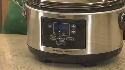 Hamilton Beach 6 Quart Programmable Slow Cooker - image 2 from the video