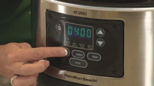 Hamilton Beach 6 Quart Programmable Slow Cooker - image 4 from the video