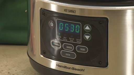 Hamilton Beach 6 Quart Programmable Slow Cooker - image 5 from the video