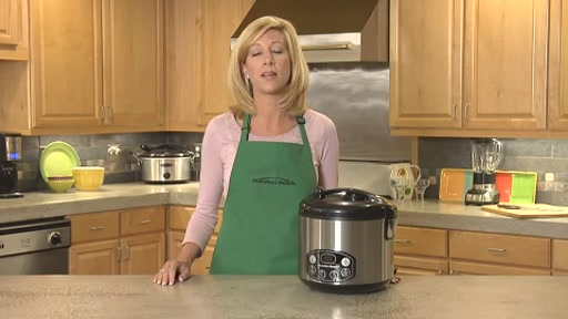 Hamilton Beach Digital Simplicity Deluxe Rice Cooker/Steamer - image 1 from the video