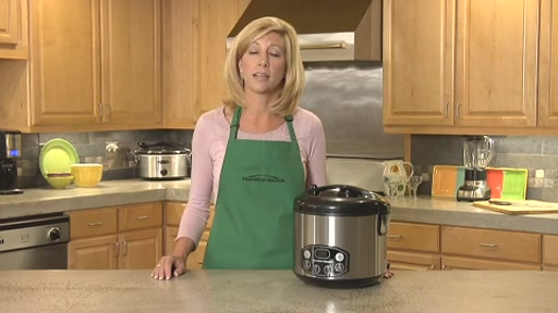 Hamilton Beach Digital Simplicity Deluxe Rice Cooker/Steamer - image 8 from the video