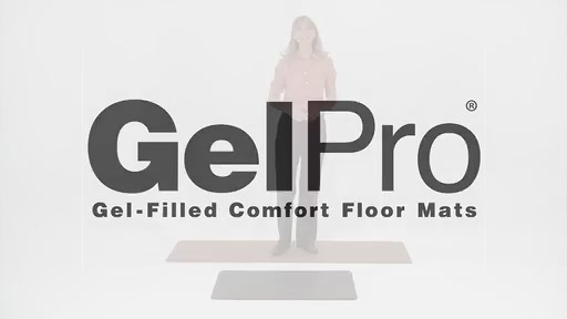 GelPro Gel Filled Comfort Floor Mats @ Bed Bath & Beyond - image 1 from the video