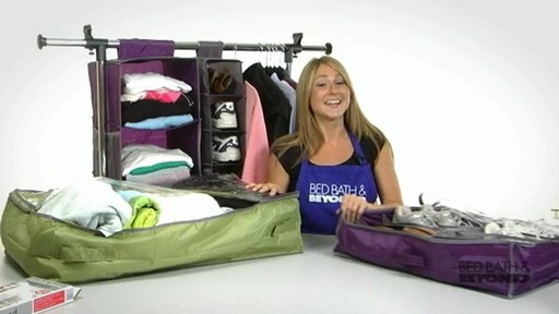 College Practical Solutions - Need More Clothing Storage? - image 6 from the video
