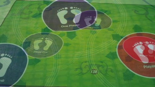 Xbox 360 Kinect Perfect Range Anti-Slip Gaming Mat - image 2 from the video