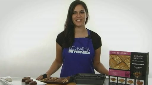 Slice Solutions Brownie Pan - image 10 from the video