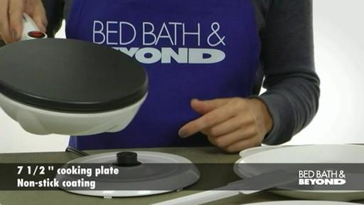 cucina pro crepe maker manual