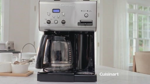 Cuisinart Coffee On Demand 12-Cup Programmable Coffee Maker - image 3 from the video