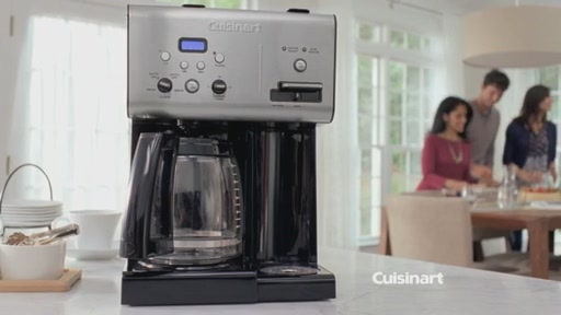 Cuisinart Coffee On Demand 12-Cup Programmable Coffee Maker - image 4 from the video