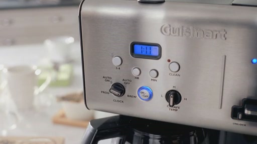Cuisinart Coffee On Demand 12-Cup Programmable Coffee Maker - image 5 from the video