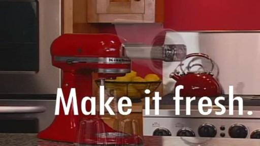 Kitchenaid Stand Mixer Ice Cream Maker Attachment 187 Bed