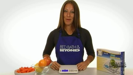 Biggest Loser Cal-Max Kitchen Scale - image 10 from the video