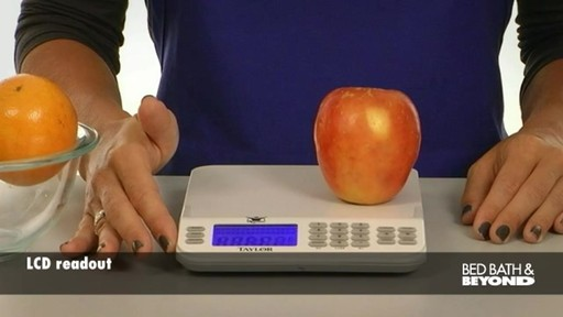 Biggest Loser Cal-Max Kitchen Scale - image 2 from the video