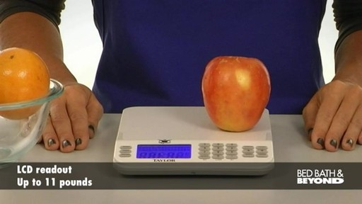 Biggest Loser Cal-Max Kitchen Scale - image 3 from the video