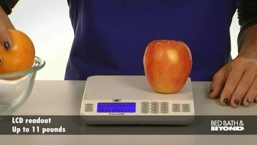 Biggest Loser Cal-Max Kitchen Scale - image 4 from the video