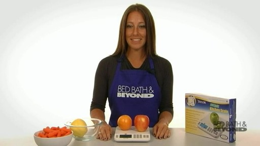 Biggest Loser Cal-Max Kitchen Scale - image 7 from the video