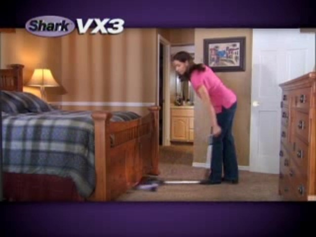 Shark VX3 Cordless Floor and Carpet Sweeper - image 10 from the video