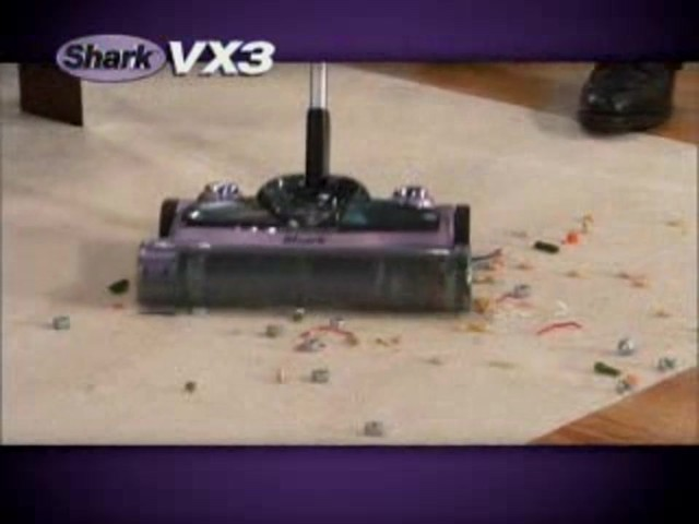Shark VX3 Cordless Floor and Carpet Sweeper - image 3 from the video