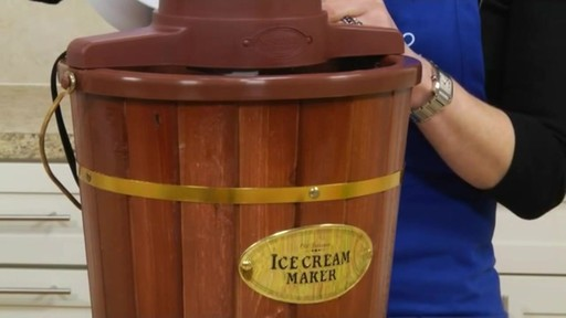Old Fashioned Ice Cream Maker 187 Bed Bath Amp Beyond Video