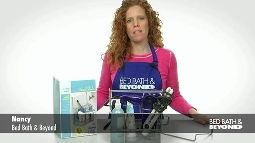 simple solutions hair dryer basket » bed bath & beyond video