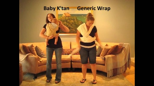 Baby K'tan Baby Carrier - image 4 from the video