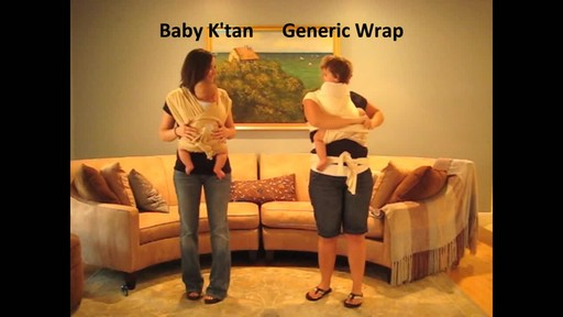 Baby K'tan Baby Carrier - image 8 from the video