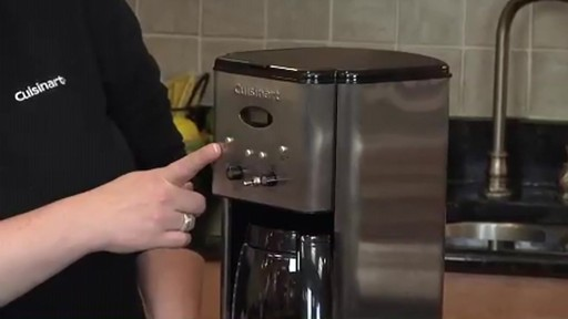Cuisinart Programmable 12-Cup Coffee Maker DCC-1200 - image 1 from the video