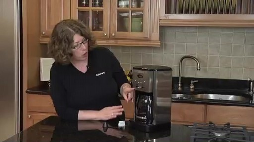 Cuisinart Programmable 12-Cup Coffee Maker DCC-1200 - image 3 from the video