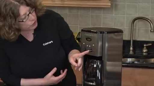 Cuisinart Programmable 12-Cup Coffee Maker DCC-1200 - image 5 from the video