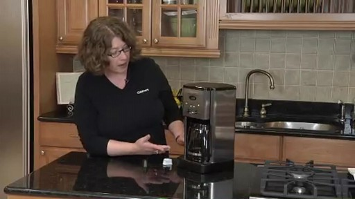 Cuisinart Programmable 12-Cup Coffee Maker DCC-1200 - image 6 from the video