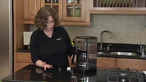 Cuisinart Programmable 12-Cup Coffee Maker DCC-1200 - image 7 from the video