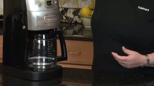 Grind And Brew Coffee Maker Bed Bath And Beyond : Cuisinart Grind & Brew 12 Cup Automatic Coffee Maker DGB 625BC Bed Bath & Beyond Video