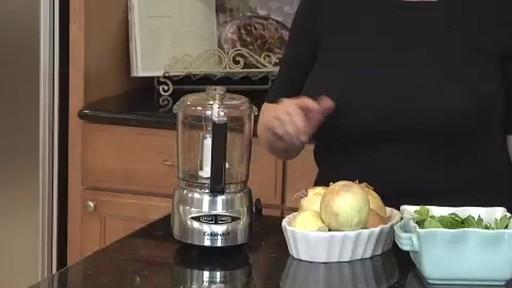 Cuisinart 4 Cup Mini Prep Plus Food Processor Dlc 4chb