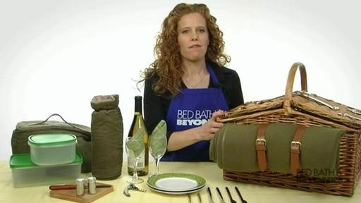 Somerset Picnic Basket - image 1 from the video