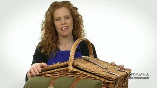 Somerset Picnic Basket - image 3 from the video