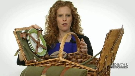 Somerset Picnic Basket - image 4 from the video